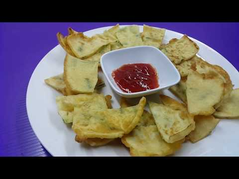 Deep Fried Crispy Chinese Chives Fritters ● Homemade Recipe [Simple & Easy]