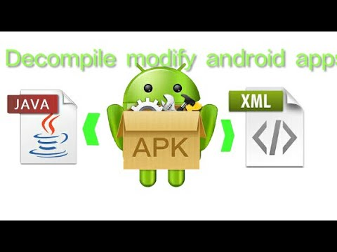 Reverse Engineer [Decompile] Android Apps: Gets It's Java And XML Code, Modify​ App!