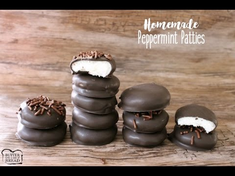 Homemade Peppermint Patties - Butter With A Side of Bread