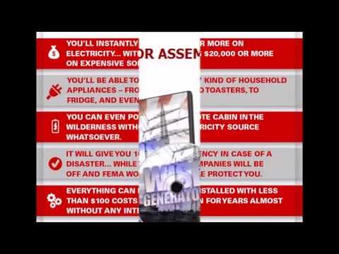 Get Energy Independent with W I S E Generator | W I S E Generator cheap electricity!