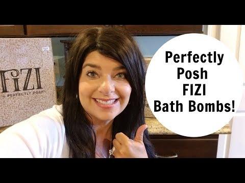 PERFECTLY POSH FIZI BATH BOMBS