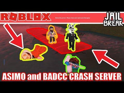ASIMO3089 BADCC SPAWNING 5000 CAR TRAIN! | Roblox Jailbreak