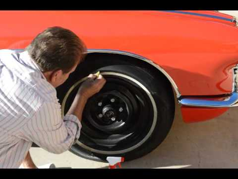 DEMO CLEANING WHITE WALL TIRES WITH MELTDOWN