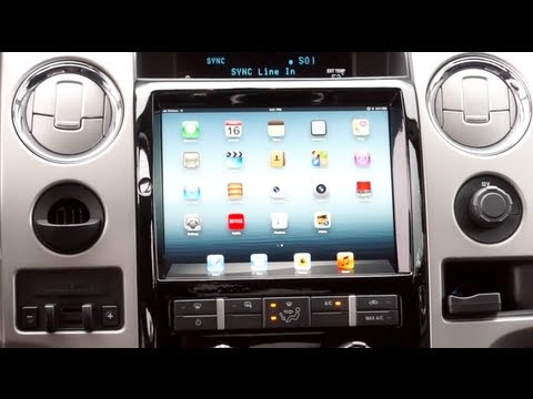 iPad Dash Install - Soundman F150