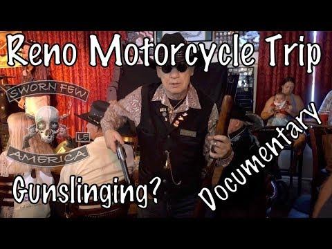 Documentary Film-Motorcycle Trip to Nevada & California-Sworn Few Law Enforcement Motorcycle Club