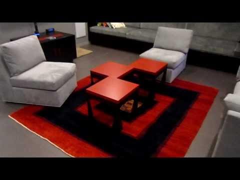 Custom Furniture - Black and Red Lacewood
