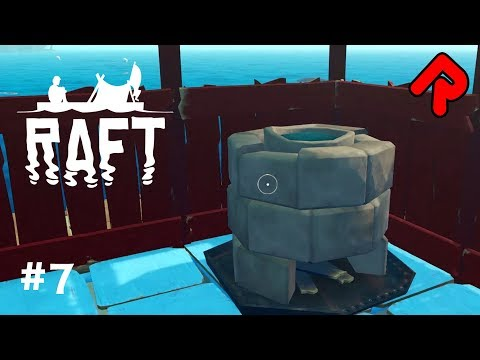 Smelting Ore to get BEST STUFF!   Let's play RAFT gameplay 2018 ep 7 (Early Access PC game)