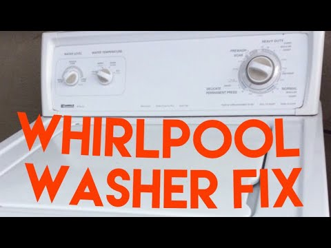 ✨ Kenmore Washer Won't Agitate Or Spin—Broken Motor Coupler—DIY REPAIR — SAVE $$$ ✨