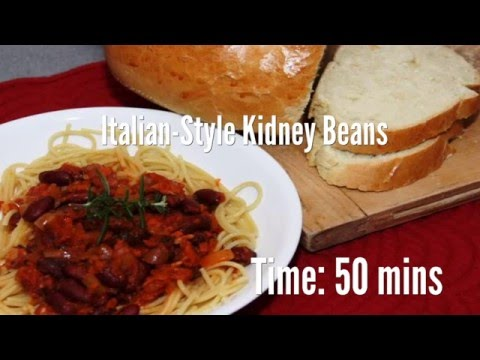 Italian-Style Kidney Beans Recipe
