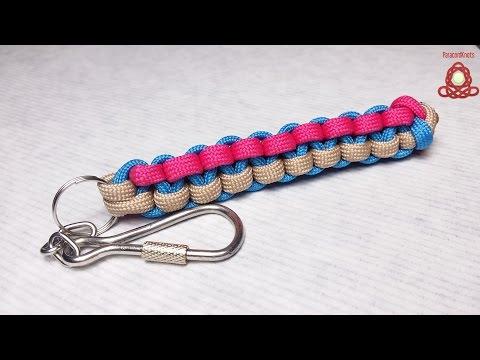 How to make Triangle Stitch  keychain scoobie