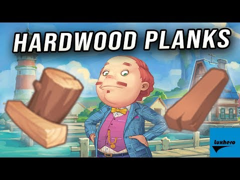 My Time At Portia - How to Get Hardwood Planks