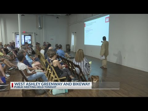 Public gives input on West Ashley Greenway and bikeway