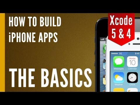 How To Make An iPhone App - Our First XCode Project