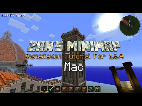 How To Install Zan's Minimap - Minecraft 1.6.4 - Mac Tutorial