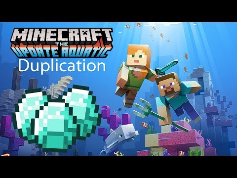 Minecraft Aquatic Duplication Glitch: Quick, Phase Two Aquatic or 1 5 Update