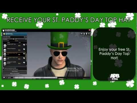 APB: Reloaded - Receive Your St. Paddy's Day Top Hat for FREE