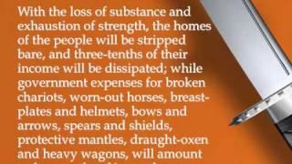 The Art of War, Chapter 2; Sun Tzu - A/V Book