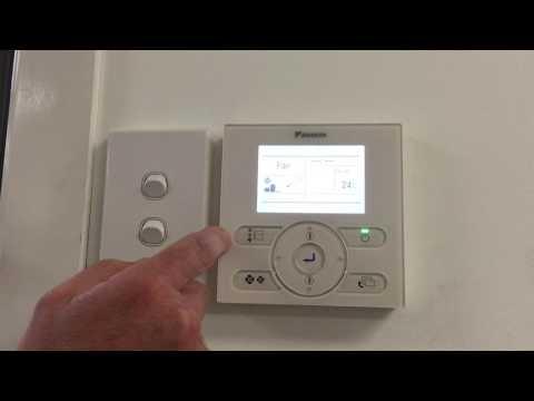 Operation Guide   Daikin Wall Controller