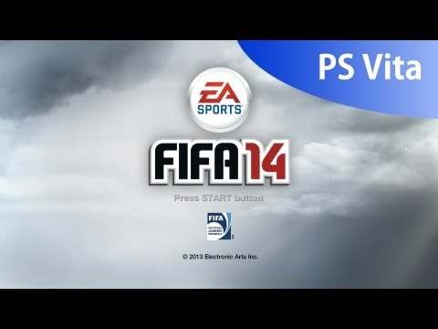 FIFA 14 PS Vita - Control and setting