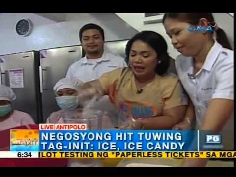 Beat the heat with ice candy business | Unang Hirit