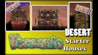 Terraria 3 Desert Starter Houses | Design Ideas And Inspiration