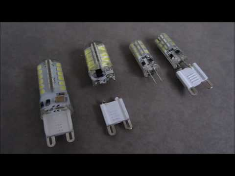 How to Make a LED G4 with G9 Adaptor एलईडी बल्ब 12 वोल्ट