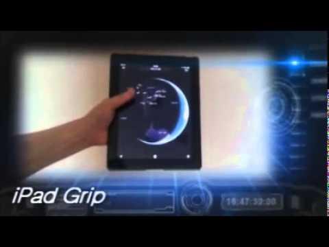 ipadgrip / Using one hand ipad