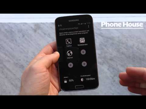 Samsung Galaxy S5 räcker längre med super-strömsparläge