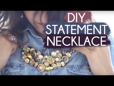 PyP Tutorial: DIY Statement Necklace