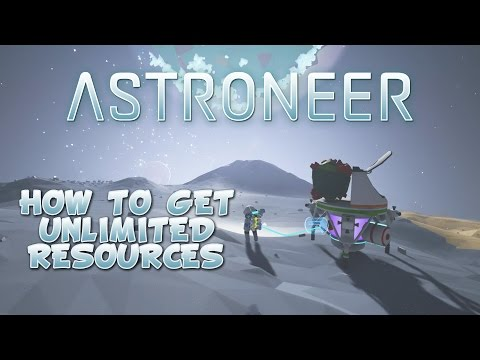 Astroneer How To Get Unlimited Resources