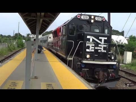 Metro-North Railroad in Danbury, Connecticut