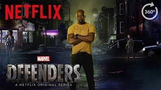 Marvel's The Defenders   360 Street Scene [HD]   Netflix