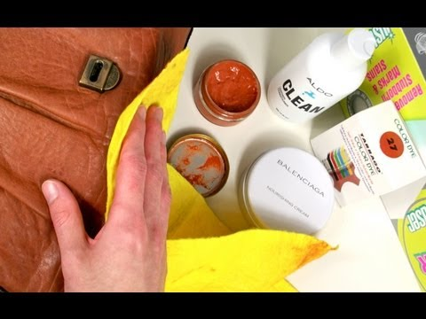 DIY - Cleaning Leather Handbags