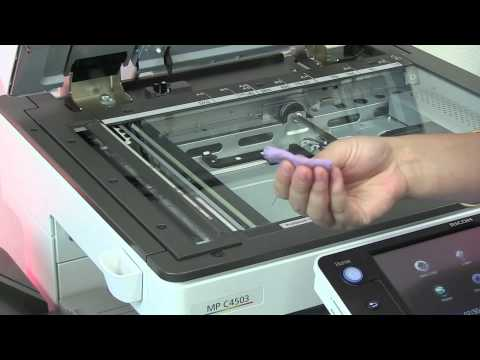 How to get those lines off your copies (for Ricoh copiers) - R.K. Black, Inc. | Oklahoma City, OK