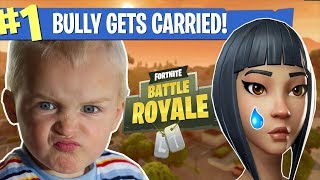 The 5 YEAR OLD Fortnite bully! Battle Royale (LOUD)
