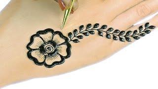 मेहंदी डिजाईन - Arabic Mehndi Design For Hands #44 @jaipurthepinkcity