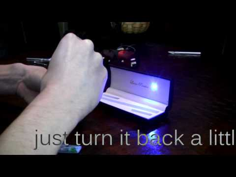 How to Pot Mod a Blue/Violet (405nm) Laser from 5mW to 100mW