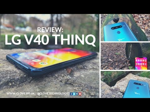 LG V40 ThinQ Review: How Many Cameras Can You Fit On A Smartphone?
