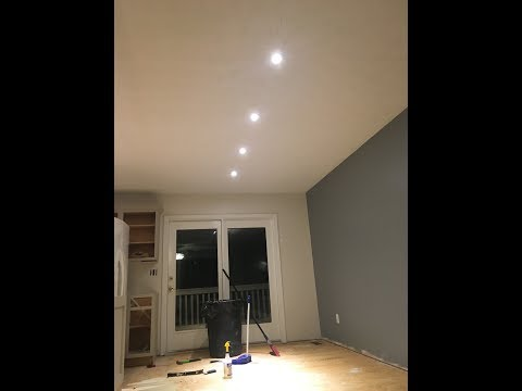 How to install Reccessed lighting Detailed Version