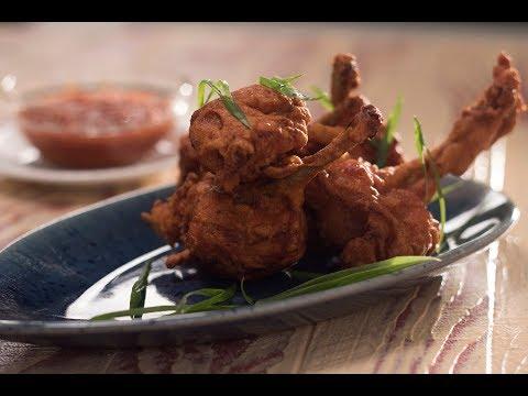 Chicken Lollipop   10 Best Indo-Chinese Recipes   Chef Anupa   Sanjeev Kapoor Khazana