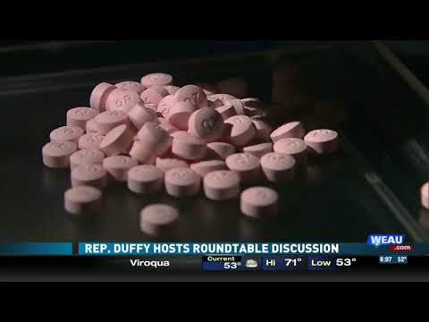 Sean Duffy Hosts Drug Enforcement Roundtable (WEAU)
