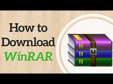 How to download WINRAR (