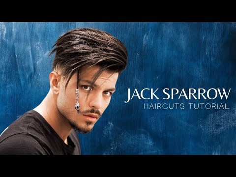 Jack Sparrow Inspired Hairstyle & Haircuts Tutorials | Men's Hairstyles #NEW 2017