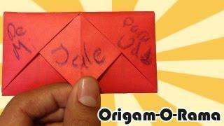 En este tutorial aprenderás a hacer una carta plegable de tipo jale, es una cartita que, para poder abrirse, debes JALAR una pestañita (duh!). Espero que te guste este tutorial y si prefieres ver otro ripo de cartas plegables, da clic en el link aquí abajito.  ------------------------------------------------------------------------------------------------------ #CARTASPLEGABLES: http://www.youtube.com/playlist?list=PLDHTn8ZH1FNMDEEAmwB6S8lOLwUMnZ-lz  ORIGAMI DE ENAMORADOS: http://www.youtube.com/playlist?list=PLB264F3D6EBBF56E1&  SUSCRÍBETE A MI SEGUNDO CANAL! http://www.youtube.com/pastragames  SÍGUEME en:  TUITER: http://www.twitter.com/origamorama FÉISBUC: http://www.facebook.com/origamorama  ------Detalles de esta figura------  - HOJAS: Papel para impresión a color o blanco (se compra en cualquier papelería). Gramaje de 75g/m2 - MEDIDAS: Hoja tamaño carta (aprox 21x27cm)  Música de Kevin MacLeod - incompetech.com