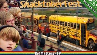BUS RACE, CARS RACING, CARS CRASHING. Smacktoberfest Waterford Speedbowl CT: 4K[KM+Parks&Rec S02E11]
