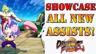 Showcasing all 76 brand new assists in Season 3 Dragon Ball FighterZ!
