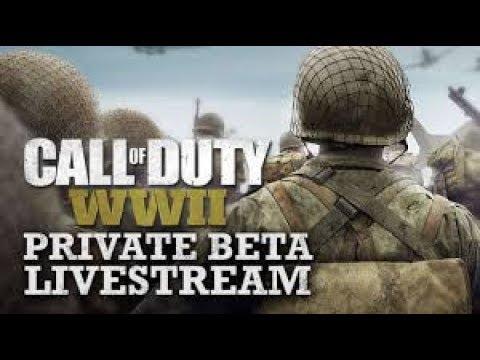 FREE COD WW2 BETA CODS!!!!!! stream #2