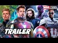 Avengers Infinity Saga Trailer Falcon And Winter Soldier Marvel Phase 4 Breakdown