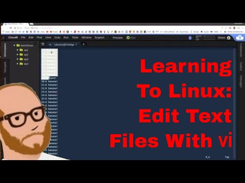 Learning to Linux: Day 4 - Editing Text Files Using vi