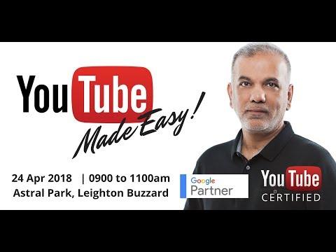 YouTube Made Easy Seminar